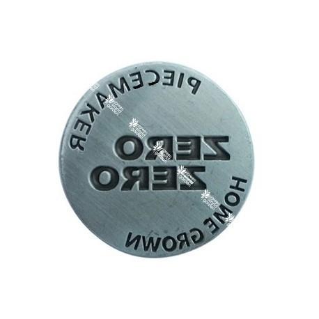 Moneda sello para prensador 3cm - zero zero