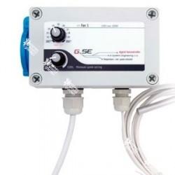 Controlador de temperatura y velocidad mínima