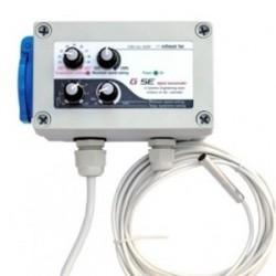 Controlador de temperatura, histerésis y velocidad
