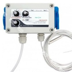 Controlador de temperatura con configuaración de baja presión