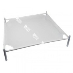 Secador apilable blanco cuadrado - 64 cm