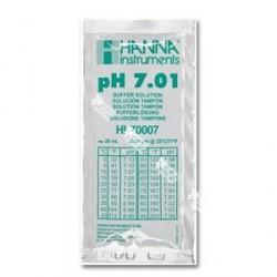 Calibrador de PH líquido - 7,01 - en sobre de 20ml. - HANNA INSTRUMENTS