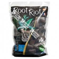 Taco lana de esponja Root Riot - 100 unidades - GROWTH TECHNOLOGY
