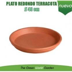 Plato redondo para maceta (40 cm Ø)