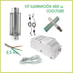 Kit 100x100 Cooltube 400 w - Terre