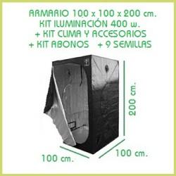 Kit 100x100 Foco 400 w - Tierra