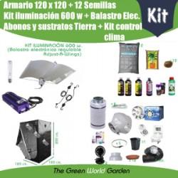 Kit 120x120 600 w regulable, Adjust-A-Wings - Tierra