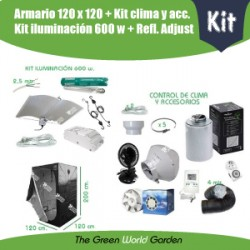 Kit armario 120 x 120 600 w Adjust-A-Wings
