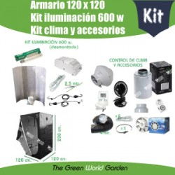 Kit 120 x 120 600 w
