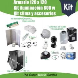 Kit 120 x 120 - Foco 600 w