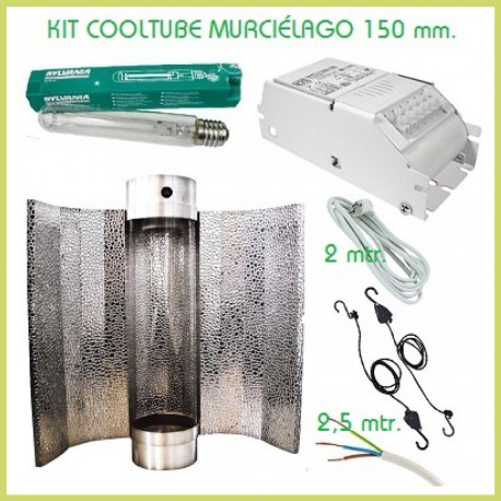 Kit iluminación Cooltube murciélago 150 mm