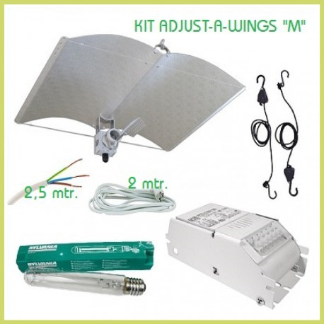 Kit iluminación 600 w Adjust-A-Wings M