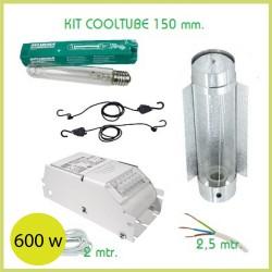KIT ÉCLAIRAGE COOLTUBE 150 mm 600 w