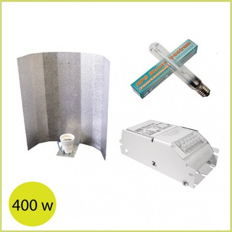 Kit iluminación básico para cultivo de interior