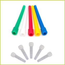 Boquilla plástico para shisha