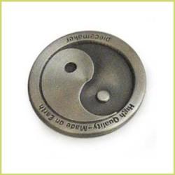 Moneda sello para prensador 3 cm - ying&yang