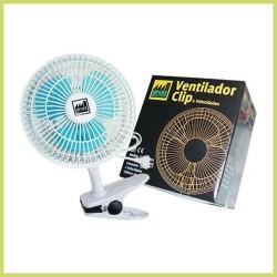 Ventilador con pinza oscilante - 18 cm - THE PURE FACTORY