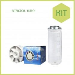 Kit chambre culture 100 x 100 ECO 400 w - Terre