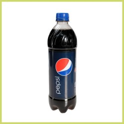 Botella de refresco 710 ml - pepsi