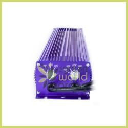 Balastro electrónico regulable Twin 2 x 600 w - LUMATEK