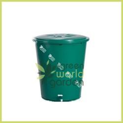 Depósito redondo verde SIN tapa - 210 litros - ECOTANK