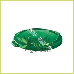 Tapa para depósito redondo verde de 210 litros - ECOTANK