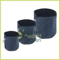 Maceta textil negro Agro - TEXPOT