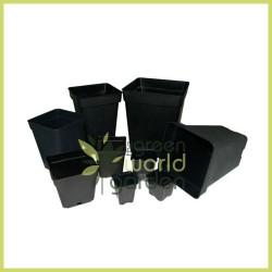 Maceta negra cuadrada - MCA